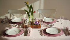 dinner, Easter, table, decor, home White Cottage, Easter Table, Table Settings, Dinner, Decor, Wood Grain, Dining, Decoration, Easter Table Settings