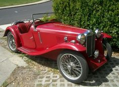 1934 MG PA. I want to ride in one, but not own one. The hood is way too long for me.