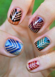 new year nail art