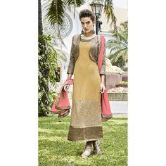 INDIAN RAG Pure Georgette Semi Stitched Dress Material