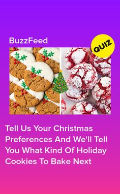 Tell Us Your Christmas Preferences And We'll Tell You What Kind Of Holiday Cookies To Bake Next Quizzes Funny, Fun Quizzes, Best Buzzfeed Quizzes, Christmas Quiz, Quizes, Holiday Cookies, Chocolate Cookies, Camping Ideas, Told You So