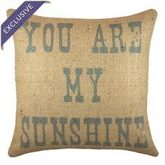 Sunshine Pillow.