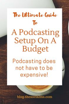 So you want to try podcasting? Great. It's expensive - if you follow the guides on the web. Secret: All the guides are wrong. You can start a podcast on a budget. You can get podcasting setup on a budget. Here is how to find a cheap podcast setup including podcasting microphones, podcast headset, a podcasting recording setup: You can get your home podcast studio setup. Learn how to start a podcast on a budget, get podcast equipment on a budget #podcasting #podcastingsetup #contentcreation