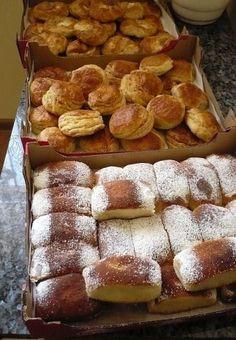 Oškvarkové pagáčiky • recept • bonvivani.sk Ale, French Toast, Food And Drink, Bread, Breakfast, Basket, Breakfast Cafe, Breads, Ales