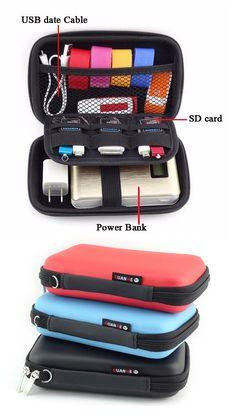 $6.23 Portable Digital Storage Bag,Power Bank Bag,Travel Bag,Travel Outfit, Housekeeping