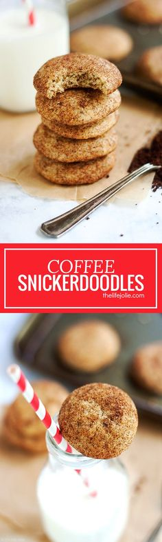 This Coffee Snickerdoodle recipe is a delicious and easy twist on traditional Snickerdoodle cookies. Soft and chewy with the spicy-sweet flavors of cinnamon and sugar with the zing of coffee, these are a delicious addition to any holiday cookie platter and simple enough to make without needing a special occasion!