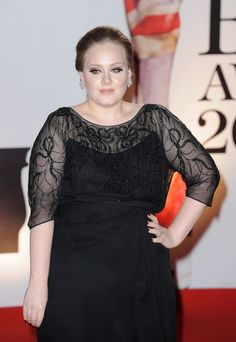 Adele - what's with this pose???