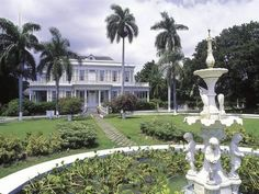 size: Photographic Print: Poster of Devon House, Kingston, Jamaica : Subjects Old Jamaica, Visit Jamaica, Kingston City, Kingston Jamaica, Ocho Rios, Negril, Stress Pictures, Jamaica Island, Jamaica History