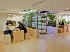 Pasona HQ in Tokyo