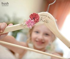 Personalised Wedding Hanger by FaeryOde on Etsy Bride Hanger, Wedding Hangers, Wedding With Kids, Diy Wedding, Wedding Ideas, Kids Hangers, Marriage Gifts, Vintage Stamps, Tropical