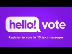 HelloVote — Voter Registration Made Easy