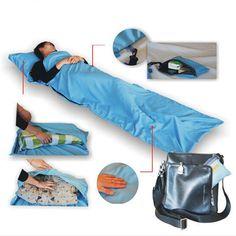 2017 New Arrival Portable Camping Hiking Sleeping Bag Envelop Type Comfortable Feeling Sleeping Bag 210x70cm Summer Use K