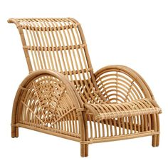 The Paris rattan lounge chair was originally designed by Arne Jacobsen in This sculptural rattan piece was Arne Jacobsen's first furniture design. Plywood Furniture, Danish Furniture, Rattan Furniture, Furniture Sale, Furniture Design, Rattan Chairs, Lounge Chairs, Dinner Chairs, Furniture Websites