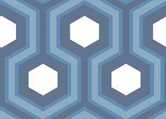 Hicks Grand Blue wallpaper by Cole & Son / $129 per double roll