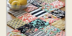 Make One Up for Every Season And Another to Give to a Quilt Lover! Your favorite combination of fabrics will make an impact in this easy table runner. Choose a charm pack for squares of fabric that already work well together or dig into your stash and coordinate them yourself. This runner is so easy …