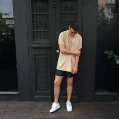 149 perfect men casual outfit with shorts to look classy – page 1 Summer Outfits Men, Short Outfits, Casual Outfits, Men Casual, Streetwear Shorts, Streetwear Fashion, Only Shorts, Modelos Fashion, Korean Fashion Trends
