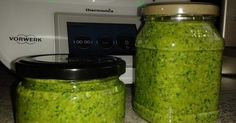 Rucola-Basilikum-Walnuss Pesto
