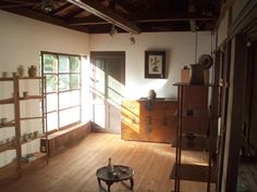 """Tenshinan"" – the upper floor serves as gallery space."