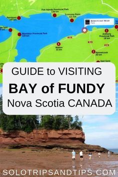 Bay of Fundy guide to visiting the highest tides in the world with map and visitor info - Nova Scotia Canada Nova Scotia Travel, Visit Nova Scotia, Canadian Travel, Canadian Rockies, East Coast Travel, Road Trip Hacks, Prince Edward Island, Beautiful Places To Travel, Koh Tao