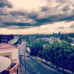 Rooftop view from Av.Universidad at Queretaro, Mexico.  Beautiful place.
