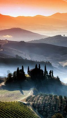 Awesome View Of Tuscany