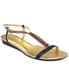 Nine West Shoes, Tikihut Flat Sandals - Sandals - Shoes - Macys