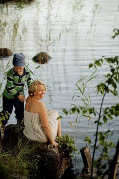 Rannalla, Sumiainen/On the beach in Sumiainen  Kuva/Photo: Maalla / Hanna-Kaisa Hämäläinen  http://www.facebook.com/MatkaMaalle  http://www.keskisuomi.net/  http://www.centralfinland.net/