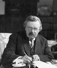 """""""Art, like morality, consists of drawing the line somewhere.""""  ? G.K. Chesterton"""