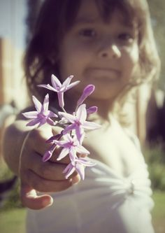 """""""Here's a flower for you, Adie."""""""