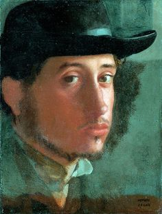 Self Portrait 1857 58 By Edgar Degas . Truly Art Offers Giclee Unframed Prints on Paper, Canvas Art, and Framed Art in all our Collections. Edgar Degas, Manet, Self Portrait Art, Art Ancien, Getty Museum, Renoir, French Artists, Oeuvre D'art, Great Artists