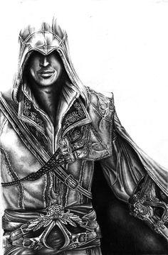 Ezio - Assassins Creed by AlexMahone