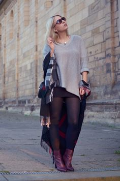 Outfit: Oversize Pulli and Shades | http://www.glasschuh.com/2015/10/outfit-oversize-pulli-shades/ #fraas store.fraas.com