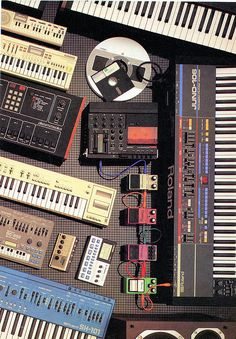 Some Stuff from around 1984 by Neil Vance, via Flickr