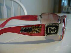 Love these handpainted yorkie sunglasses!! on ebay by misspaintsalot!