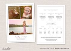 Photography Flyer Pricing Guide. Flyer Templates. $8.00