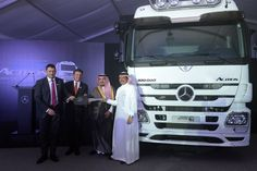 Daimler sells 100,000th Mercedes-Benz Actros truck in Mena