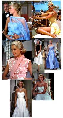 """With Violets: Style Inspiration: Grace Kelly in """"To Catch a Thief"""" (1955)"""