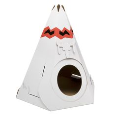 Teepee Cat Playhouse : Biscuit Home Gifts For Pet Lovers, Pet Gifts, Cat Lovers, Crazy Cat Lady, Crazy Cats, Cat Teepee, Teepee Bed, Cat Playhouse, Recycled Gifts
