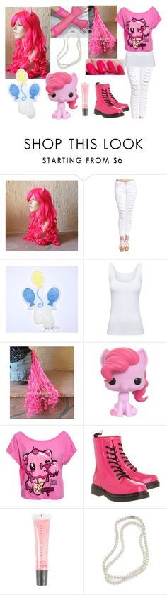 """""""Pinkie Pie (my Little Pony)"""" by nikkimarie-1123 ❤ liked on Polyvore featuring moda, My Little Pony, 2b bebe, Boody, Newbreed Girl, Dr. Martens, MAKE UP STORE, Brooks Brothers, women's clothing y women's fashion"""