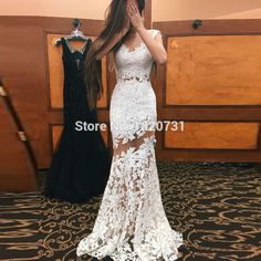 Lace Prom Dress, Mermaid Prom Dress, Tulle Prom Dress, Open-Back Prom Dress, See Through Prom Dress Prom Dresses Lace Open Back Prom Dresses Prom Dresses Mermaid Prom Dresses Prom Dresses 2019 Open Back Prom Dresses, Tulle Prom Dress, Lace Evening Dresses, Mermaid Prom Dresses, Homecoming Dresses, Bridal Dresses, Dress Up, Dress Lace, Prom Gowns