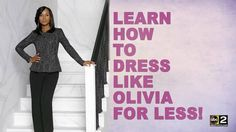 Watch Good Morning Maryland on Friday's and enter to win $$$$ to get your own Olivia Pope look.