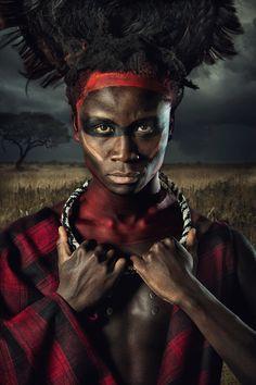 TRIBE - Maasai on Behance