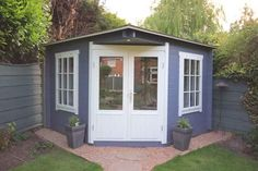 Outdoor Stuff, Sheds, Home Office, Backyard, Outdoor Structures, Garden, Diy, Shed Houses, Patio