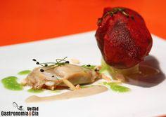 Menhir de ostras de Juan Mari Arzak | Gastronomía & Cía Chefs, Stuffed Peppers, Meat, Chicken, Vegetables, Food, Gastronomia, Seafood, Cooking