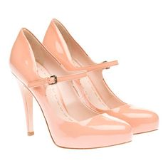 "Miu Miu Patent leather ""Mary Jane"" pump Covered 10 mm platform"