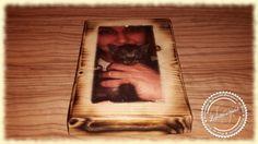 Die perfekte Geschenkidee-unser Holzdruck 10x15 cm auf einer rustikale Baumscheibe sind einzigartig, urig und individuell.