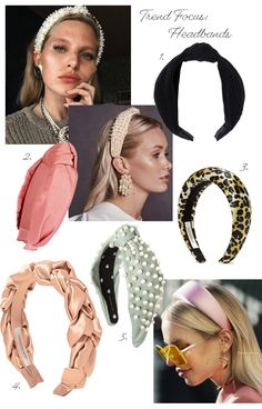 Good morning, happy new week! I wanted to start the week off by talking about one of the bigger trends this year – the headband. Fascinator Hats, Headpiece, Hair Accessories For Women, Women's Accessories, Accesorios Casual, Vintage Headbands, Velvet Hair, Wedding Headband, Barrette