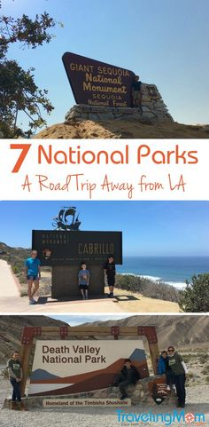 Los Angeles offers 7 National Park Sites within 4 hour road trip. Add one your road trip itinerary when you visit California.