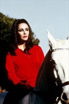 Elizabeth in Reflections in a Golden Eye 1967