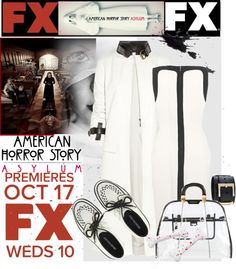 """""""American Horror Story: Asylum"""" by sweetdee55 ❤ liked on Polyvore"""